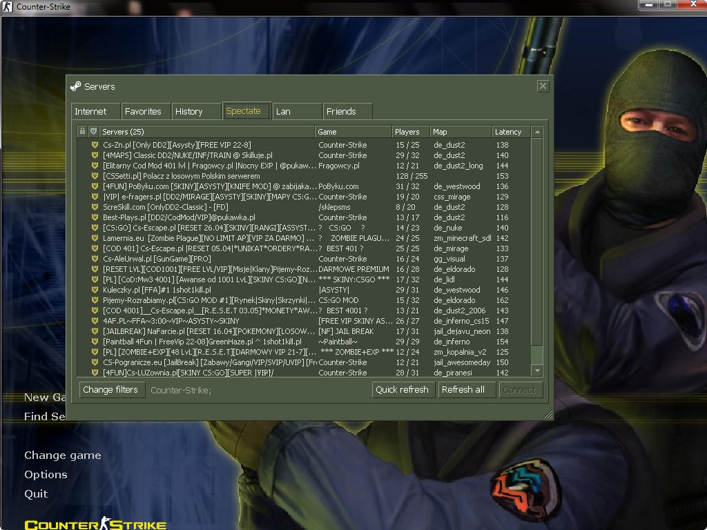 دانلود بازی Counter Strike 1.6 | V23 Build 3266 برای PC